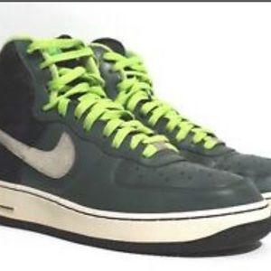 Nike Shoes | Nike Air Force Lime Green